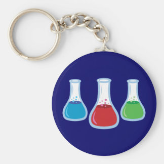 Science Flasks Key Chains