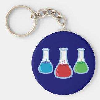Science Flasks Keychain