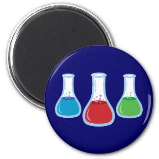 Science Flasks Magnet