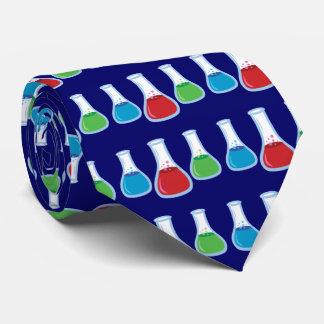 Science Flasks Tie