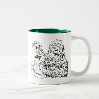 Science Friction Two-Tone Coffee Mug