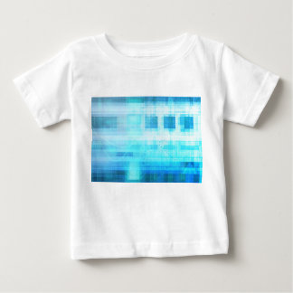 Science Futuristic Internet Computer Technology Baby T-Shirt