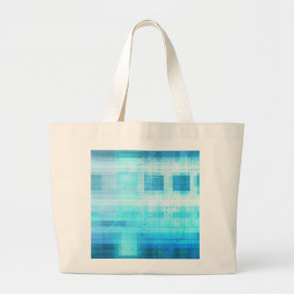 Science Futuristic Internet Computer Technology Large Tote Bag