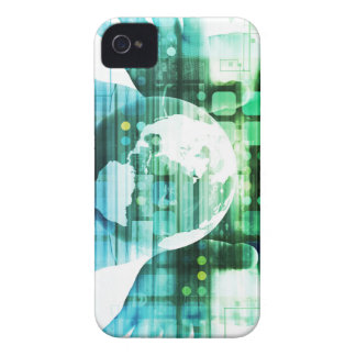 Science Futuristic Technology as a Concept Art Case-Mate iPhone 4 Case