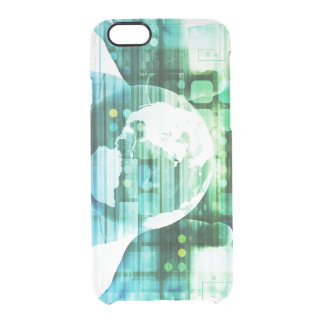 Science Futuristic Technology as a Concept Art Clear iPhone 6/6S Case