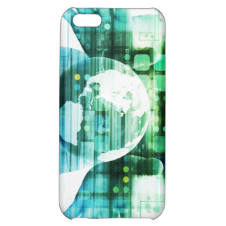 Science Futuristic Technology as a Concept Art iPhone 5C Case