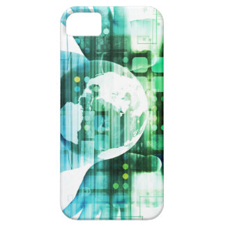 Science Futuristic Technology as a Concept Art iPhone SE/5/5s Case