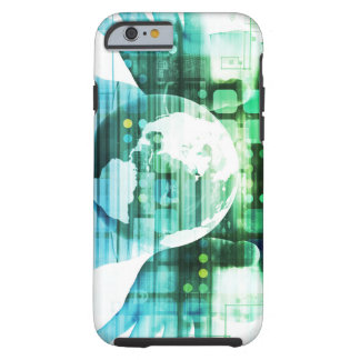 Science Futuristic Technology as a Concept Art Tough iPhone 6 Case