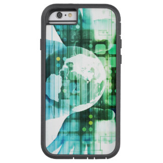 Science Futuristic Technology as a Concept Art Tough Xtreme iPhone 6 Case