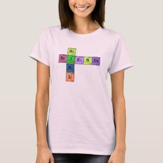 SCIENCE GIRL! Periodic Table Scramble T-Shirt