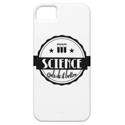 Science Girls do it Better iPhone SE/5/5s Case
