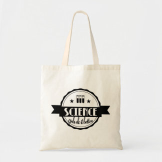 Science Girls do it Better Tote Bag