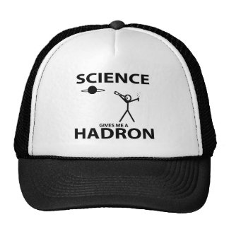 Science Gives Me a Hadron Stick Figure Nerd Gear Hat