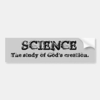 Science - God's creation - Customized Bumper Sticker