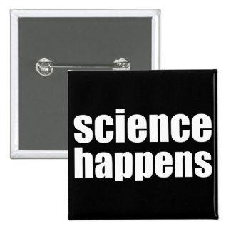 Science Happens Button
