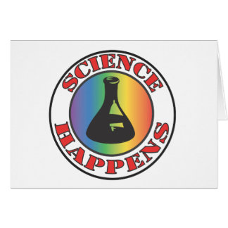Science Happens Card