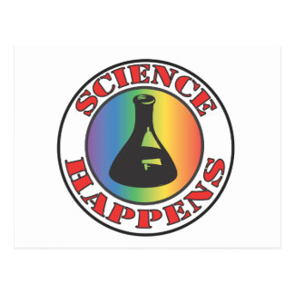 Science Happens Post Card