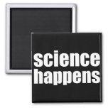 Science Happens Refrigerator Magnets