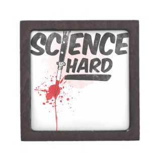 Science Hard! Jewelry Box