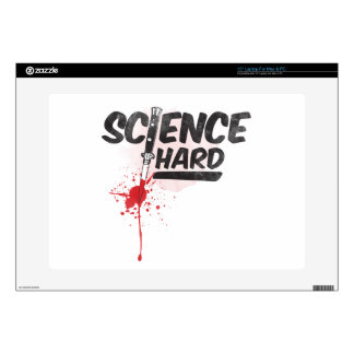 Science Hard! Laptop Decals