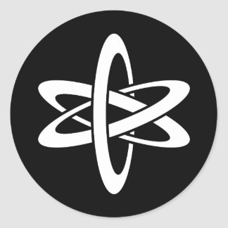 Science Ideology Classic Round Sticker
