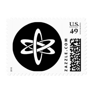 Science Ideology Postage Stamp