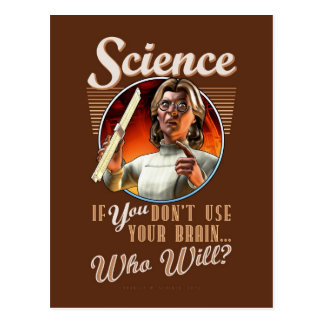 Science If YOU Don t Use Your Brain Post Cards