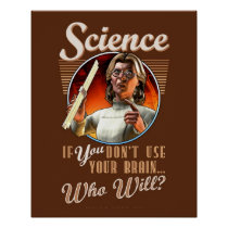 SCIENCE: If YOU Don't Use Your Brain... (16x20