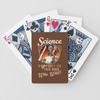 Science: If You Don't Use Your Brain Playing Cards