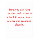 Science in Church Post Cards