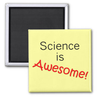 Science is Awesome 2 Inch Square Magnet