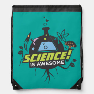 Science Is Awesome Drawstring Bag