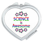 Science is Awesome Mirror For Makeup