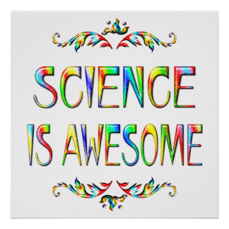 Science is Awesome Print