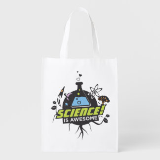 Science Is Awesome Reusable Grocery Bag