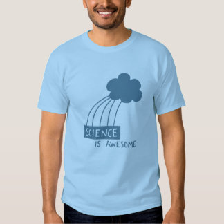 Science Is Awesome (steel blue) Shirt