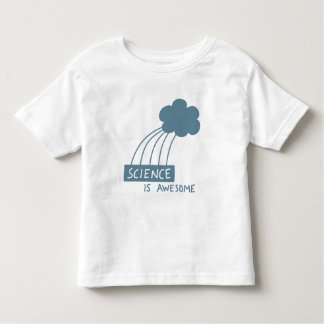 Science Is Awesome (steel blue) Toddler T-shirt