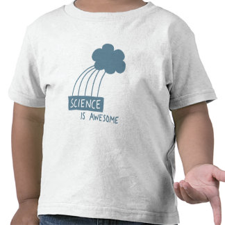 Science Is Awesome (steel blue) Tshirts