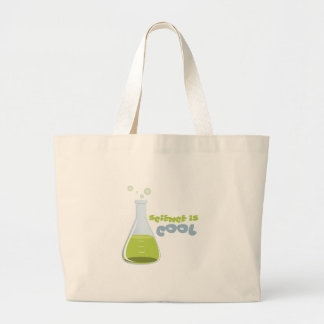 Science Is Cool Canvas Bag