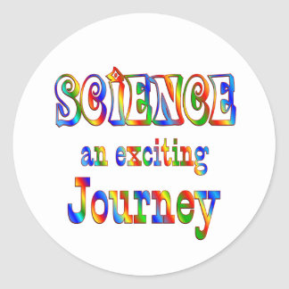 SCIENCE is Exciting Classic Round Sticker
