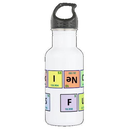 Science is Fun 18oz Water Bottle