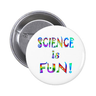 Science is Fun Button