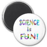 Science is Fun Fridge Magnets