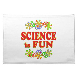 Science is FUN Cloth Placemat
