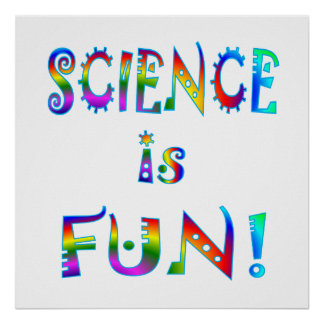 Science is Fun Poster