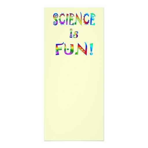 Science is Fun Rack Card Design