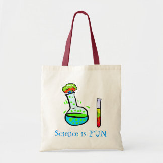 Science is Fun Whimsical Teacher's Tote Bag