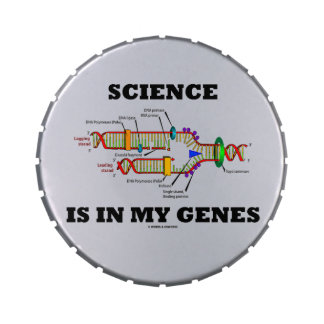 Science Is In My Genes (DNA Replication) Jelly Belly Tin