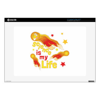 """Science Is Life Decal For 15"""" Laptop"""