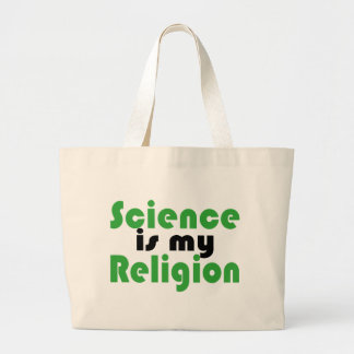 Science is my Religion Canvas Bag